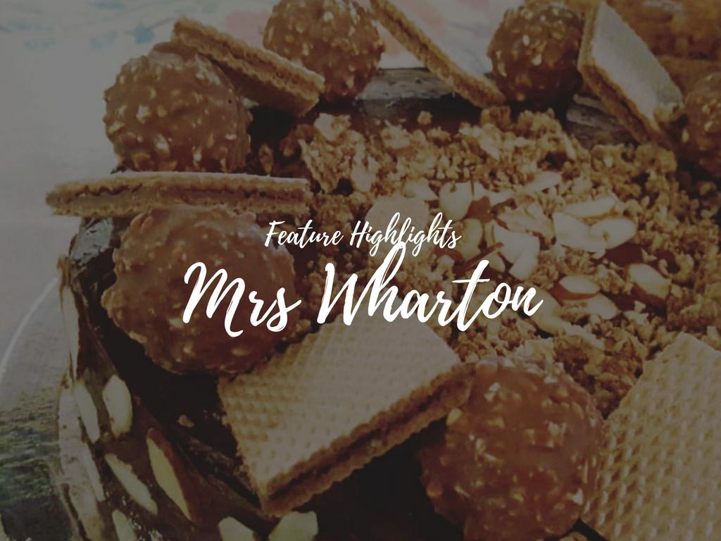 Mrs Wharton
