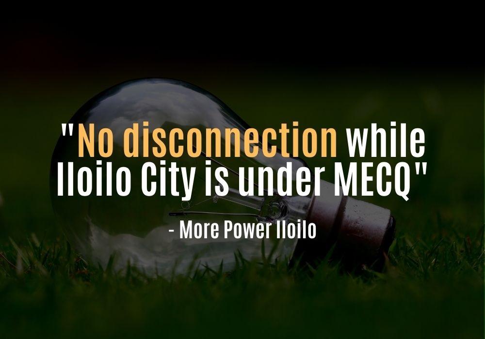 No Disconnection While MECQ